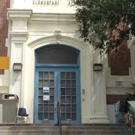 Photo of Agnes Baudit Elementary School in East Riverside, New Orleans