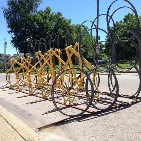 Photo of Bike Rack in Lexington-Fayette