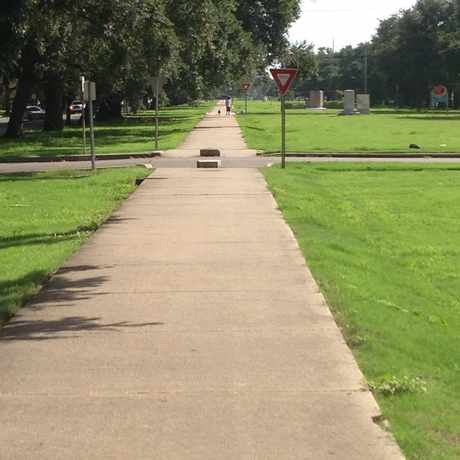 Photo of Jeff Davis Parkway in Mid-City, New Orleans