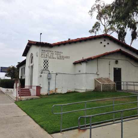Photo of The Old Logan Heights Library in Logan Heights, San Diego
