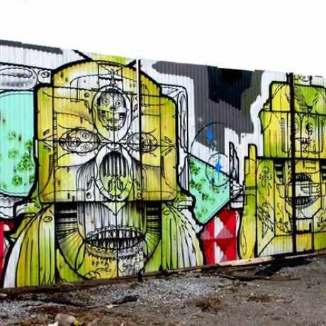Photo of NYC Steet Art in the Bronx in Concourse Village, New York