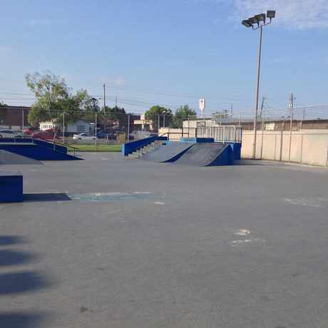 Photo of kimball skate park in National City