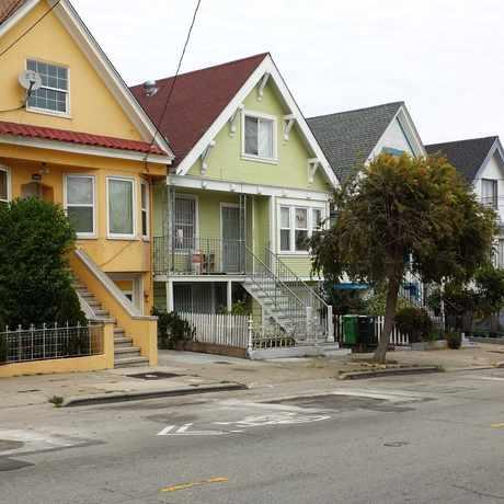 Photo of Silver Ave in Portola, San Francisco