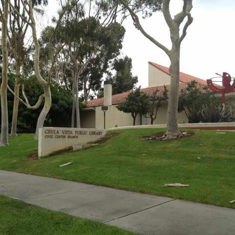 Photo of Chula Vista Public Library Civic Center Branch in Chula Vista
