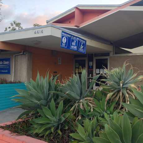 Photo of North Clairemont Library in North Clairemont, San Diego